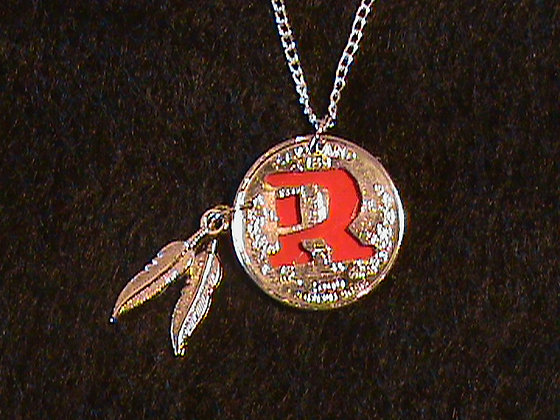 Washington Redskins Pendant with 24 inch chain