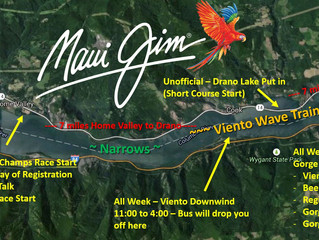 Gorge Downwind Champs 2017 July 17 - 22. Registration live on 10/1/2016