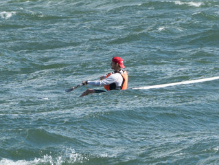 Jasper Mocke Surfski Clinics