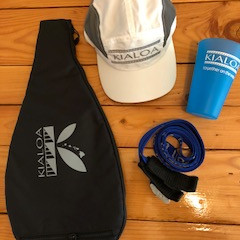 OC schwag and prize from KIALOA
