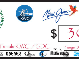 Kauai World Challenge / Gorge Downwind Champs - $600 giveaway May 7th
