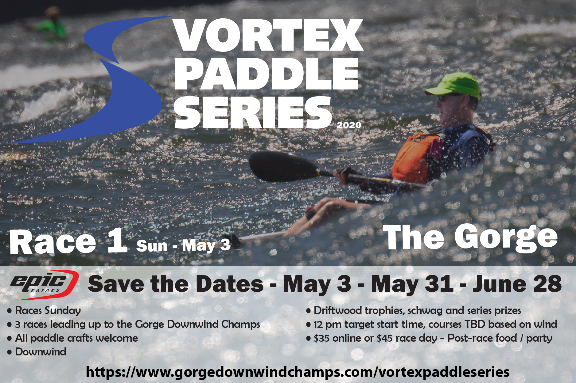 2020 Vortex Paddle Series - Promo Splash