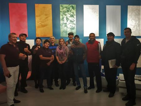 Мастер-класс Decorazza в Бишкеке
