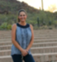 Karen Kraft at Sanctuary Cove in Tucson