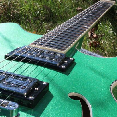 Chandler Guitar Green