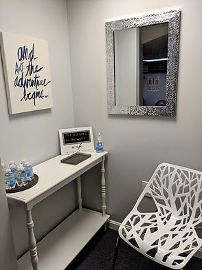 Client welcome area