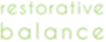 Restorative Balance Logo