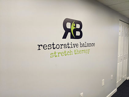 Restorative Balance wall logo