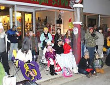 Kenly's famous Christmas Parade at Davis Drug and Kenly Historical Society