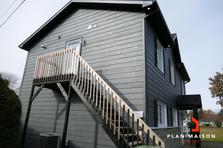 modele maison contemporaine a etage