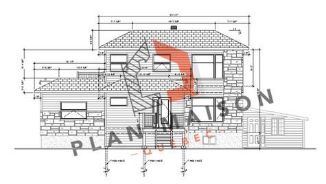 plan de maison a etage