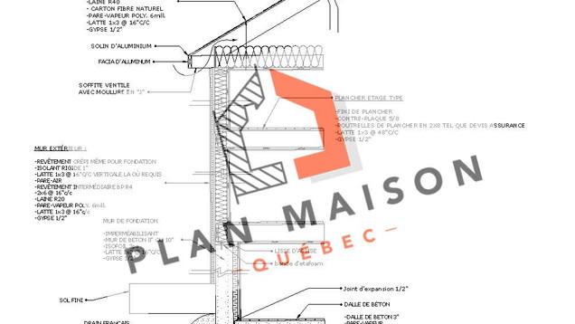 plan maison 2 chambres etage