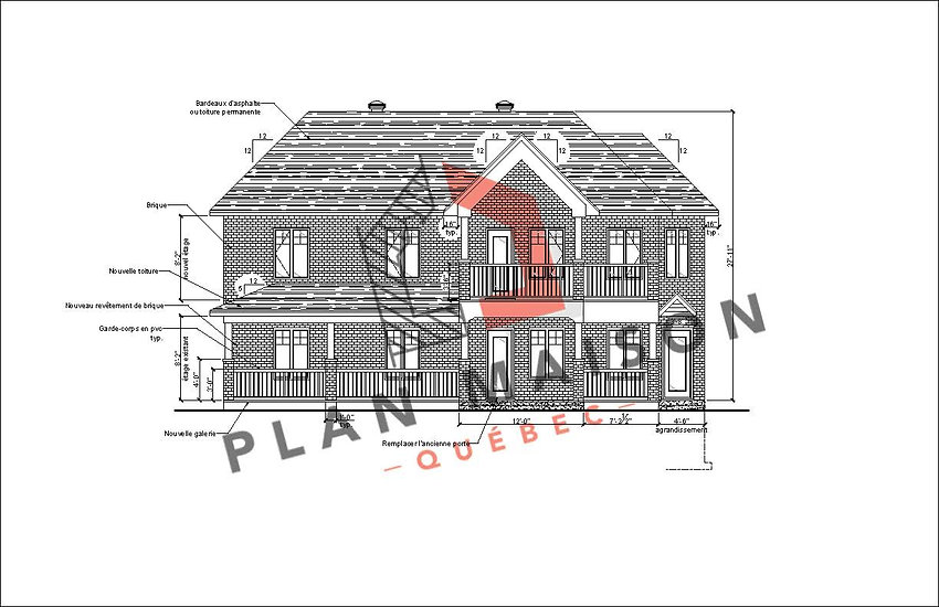 plans de maison du quebec
