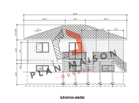 petite maison moderne plan