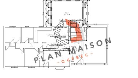 plan piece maison