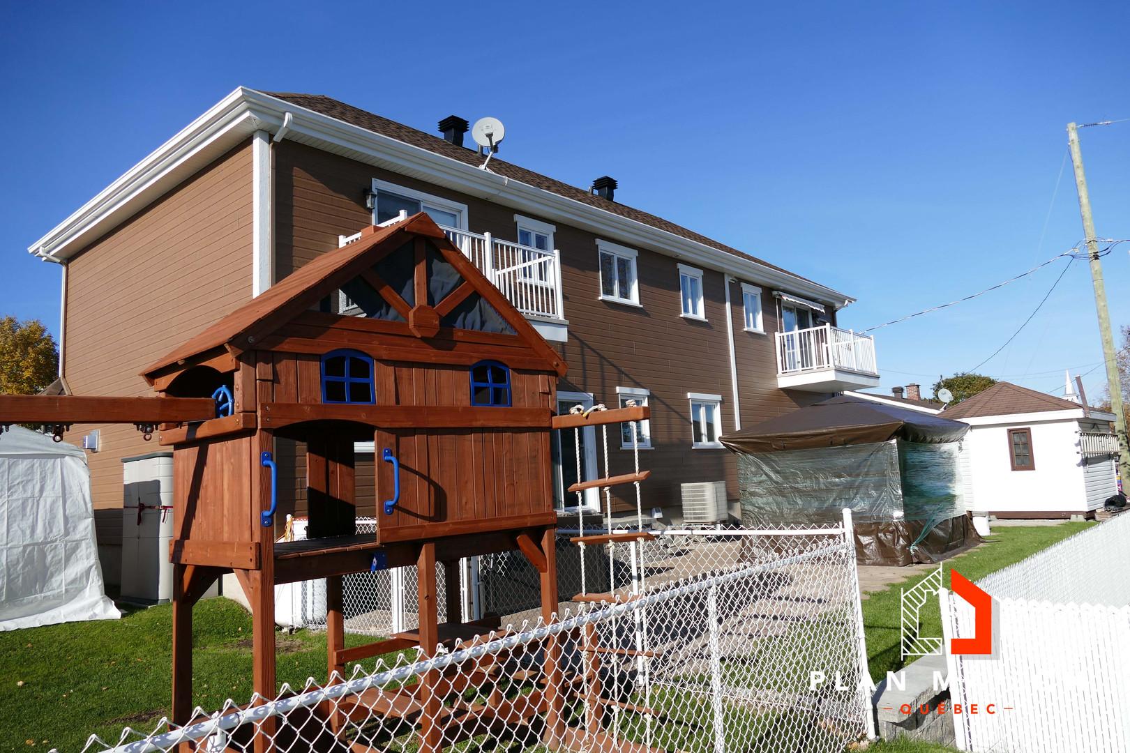 maison contemporaine etage