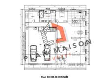 plan maison 4 chambres avec etage