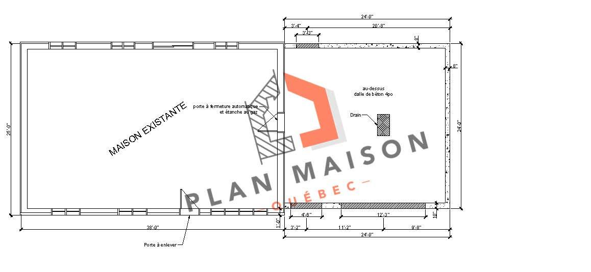 plan maison simple