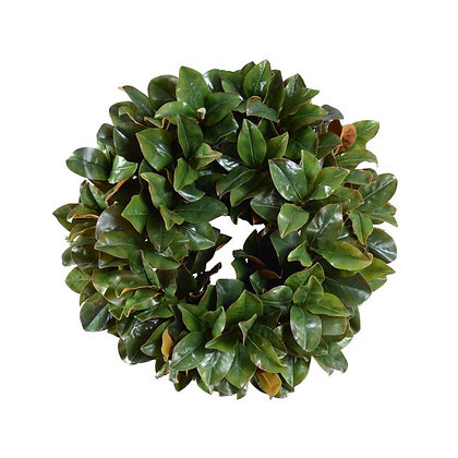 "28"" Magnolia Leaf Wreath"