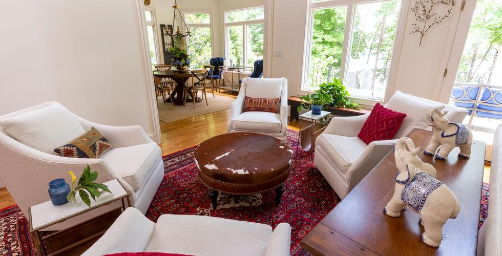 Four-Chair-Conversation-Seating-Arrangement