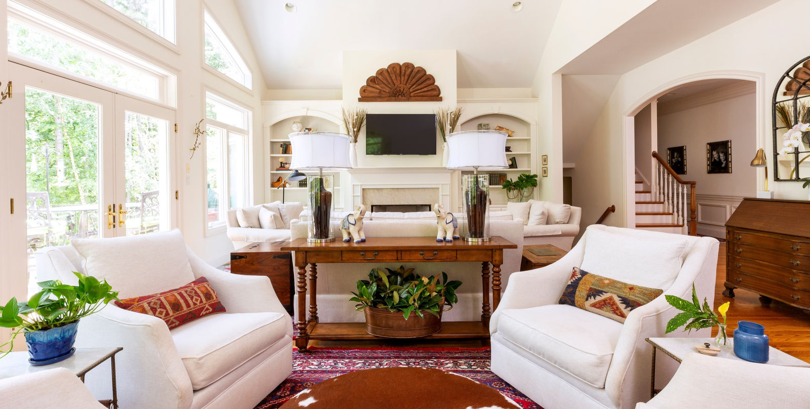 Living-Room-Design-Two-Seating-Areas