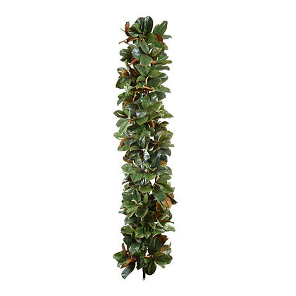6' Magnolia Leaf Garland, Grand Luxe