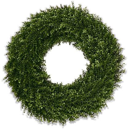 "26"" Enduraleaf Boxwood Wreath"