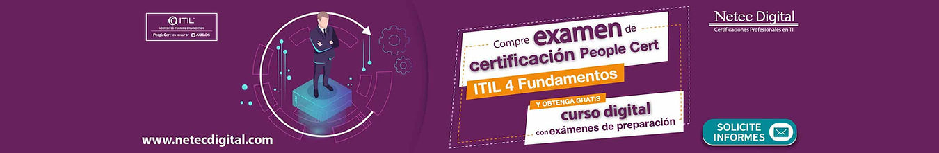 curso ITIL 4 Foundation