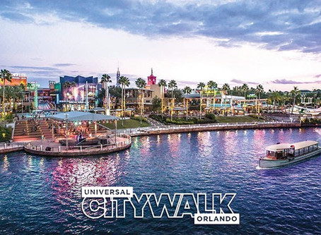 Universal City Walk Now Open!!