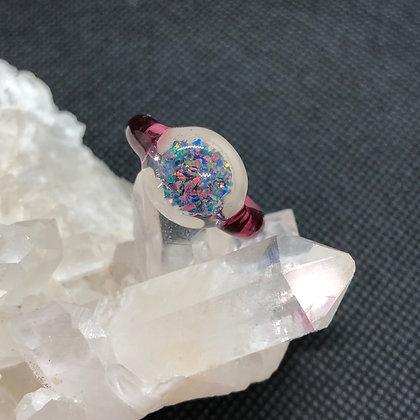 Opal ring Sz 5.5