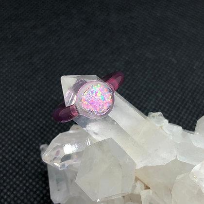 Opal Ring Sz 3.5