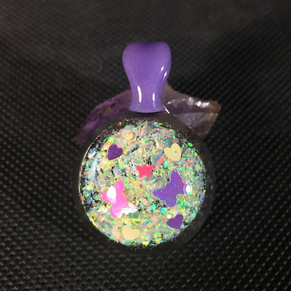 Butterfly Opal Pendant