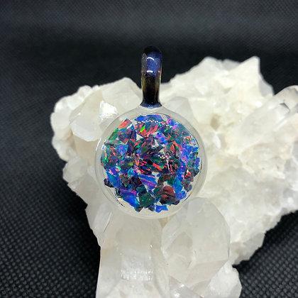 Mixed Opal pendant #1
