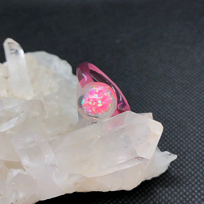 Opal Ring Sz 5.25