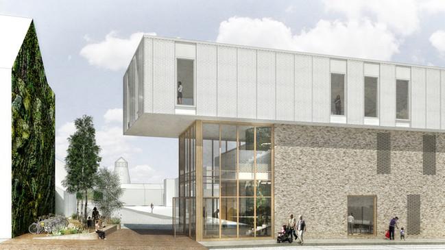 'VANTHOURNOUT - IMPULS(E)' WINNEN ARCHITECTUURWEDSTRIJD 'HUMMELTJES'  /  'VANTHO
