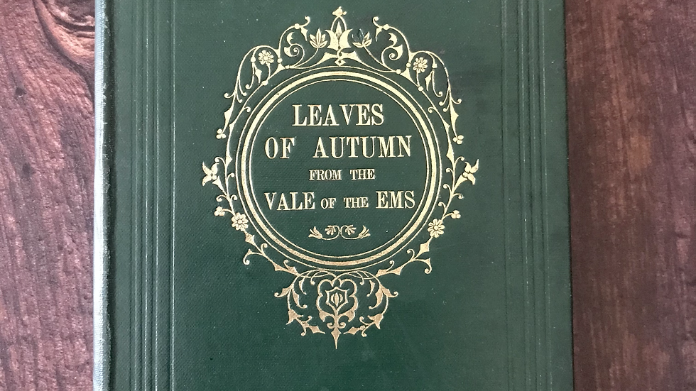 The Leaves of Autumn from the Vale of The Ems