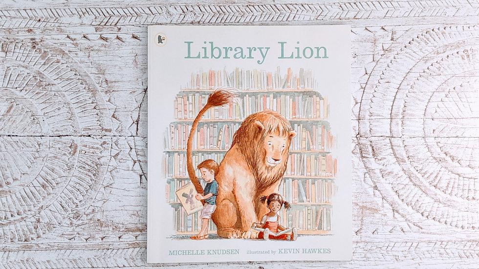 Library Lion - Michelle Knudsen