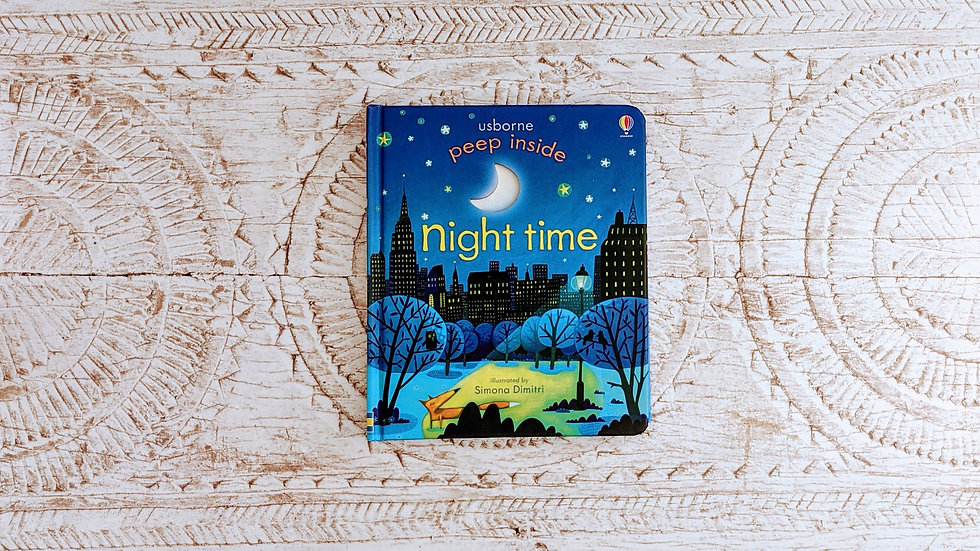 Usborne Peep Inside Night-Time