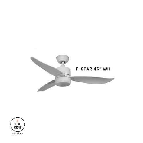 FANCO FAN_F-STAR 46'' WH