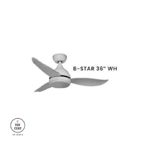 """FANCO FAN_B-STAR 36"""" WH"""