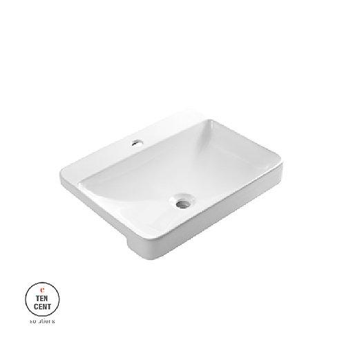 Sericite_WB 2063 Semi Reccessed Wash Basin