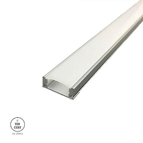 LED strip aluminium tray