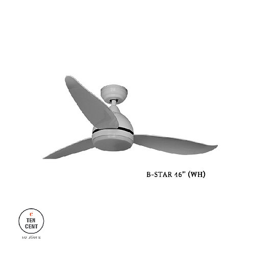 "FANCO FAN_B-STAR 46"" WH"