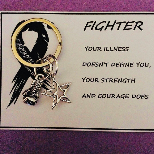 Fighter Gift Card and Keyring