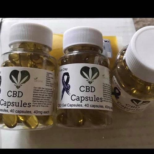 3 x pots of CBD Capsules