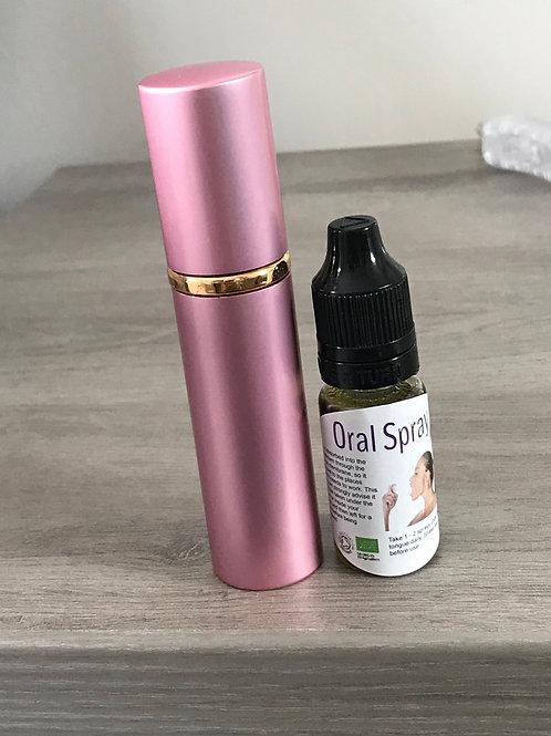 Oral spray and refil
