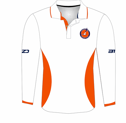 2021/22 Long Sleeve White Club WHITE Polo Shirts