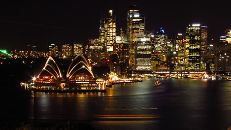 Sydney Opera House and CBD