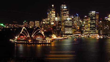 Sydney Opera House and CBD