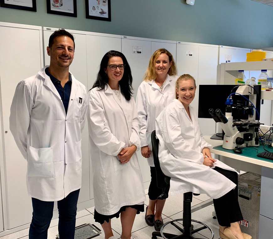 Heart Research Australia visits the Gentile's Lab